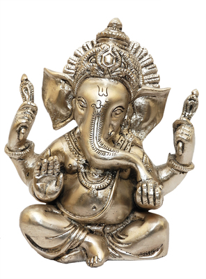 brass-statues-crown-ganesh-silver-Crown_Ganesh_silver_1281